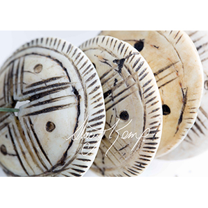 Coquillage Round Shell-6487 WbRy